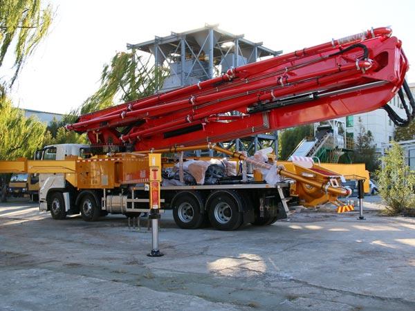 50m concrete boom pump