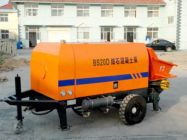 HBT20 concrete trailer pump for sale