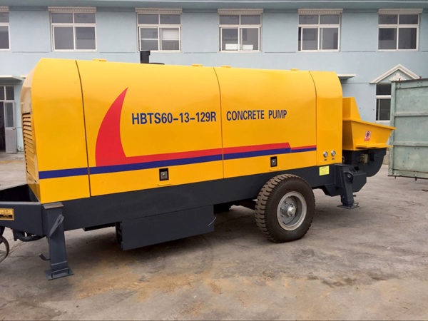 HBTS60R diesel concrete pump
