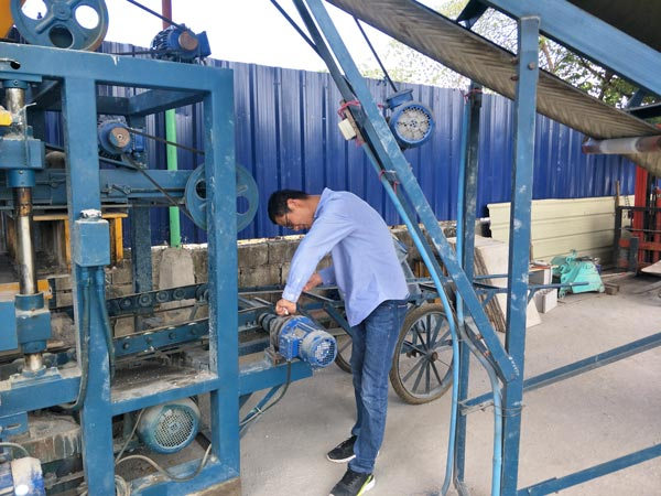 ABM-4S brick making machine