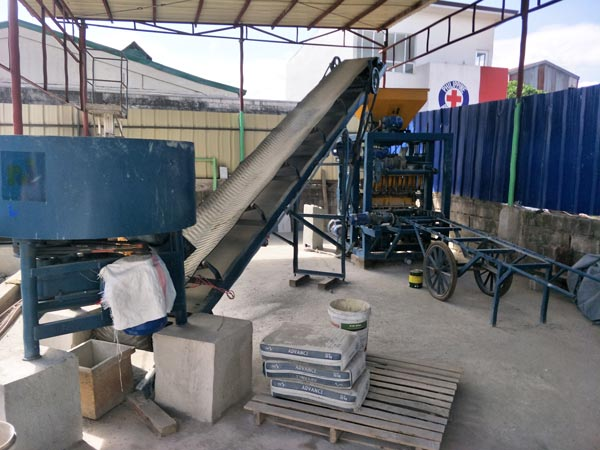 ABM-4S hollow brick machine