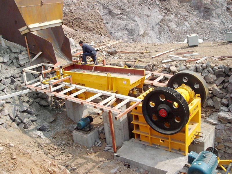 application of jaw crusher machine