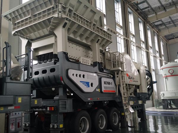 cone crusher series mobile plant