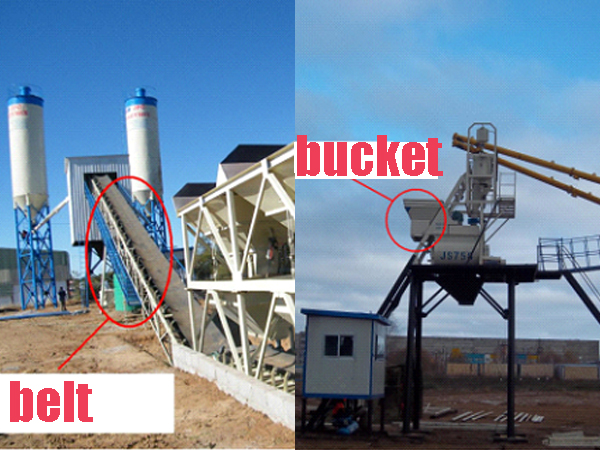 different way of transporting aggregate