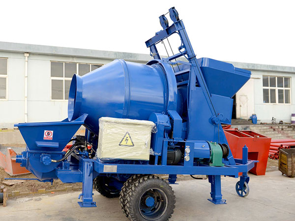 jbs40 concrete mixer pump
