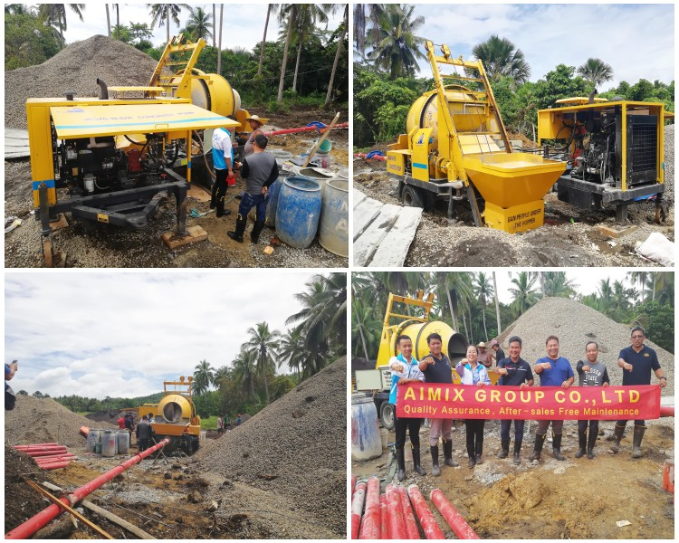 jbs40r concrete mixer pump in philippines