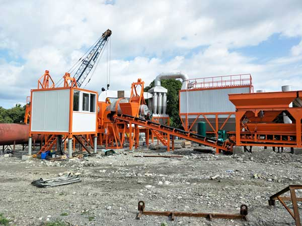 mobile asphalt mix plant in Philippines