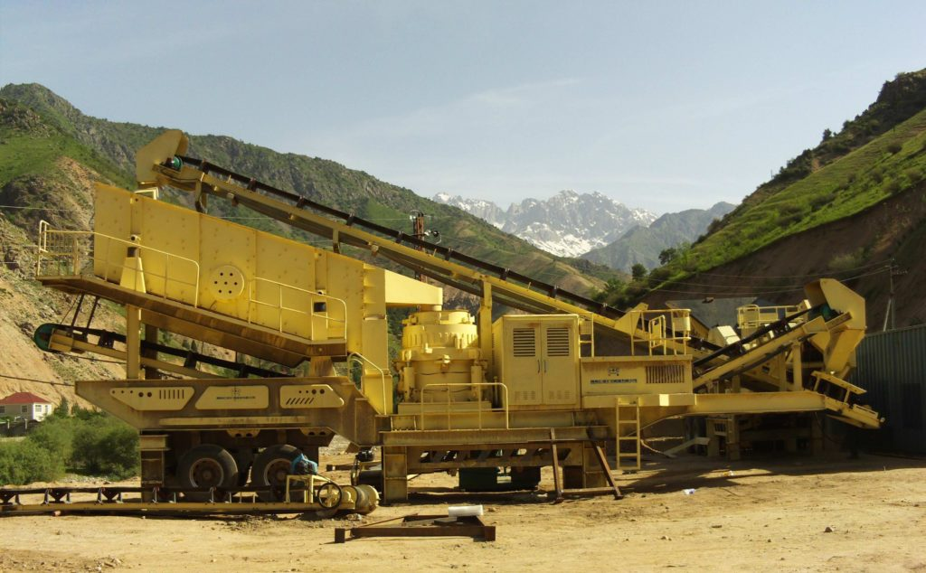 mobile cone crusher plant works in Philippines