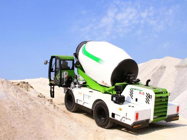 6.5 cub self loading concrete mixer for sale