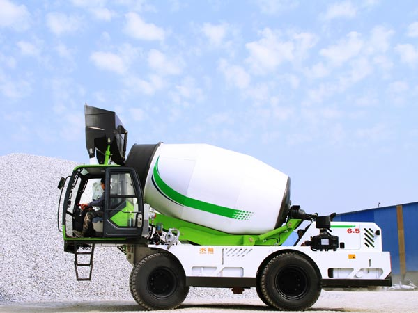 6.5 cub self loading mixer machine