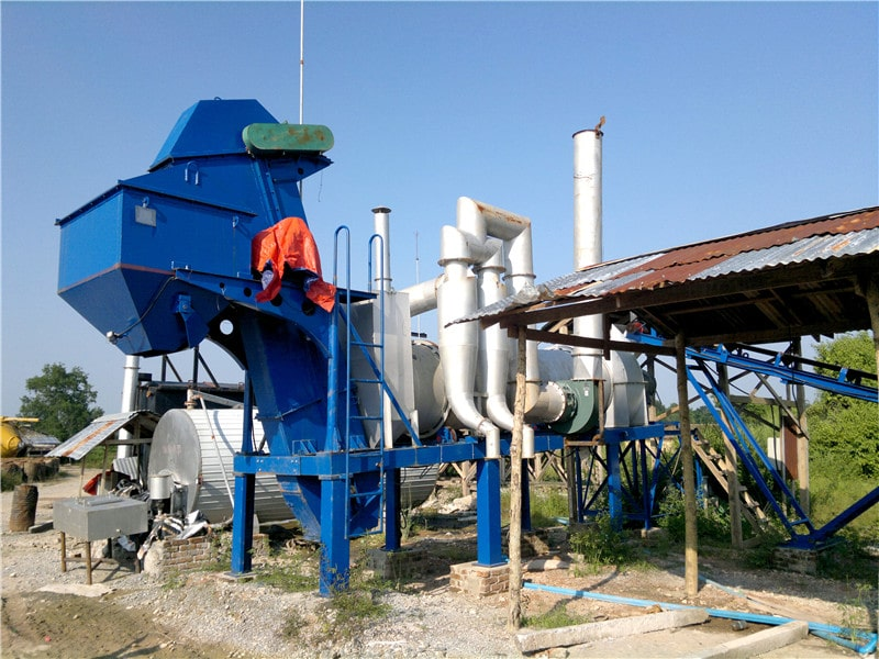 ALT20 drum mix bitumen plant
