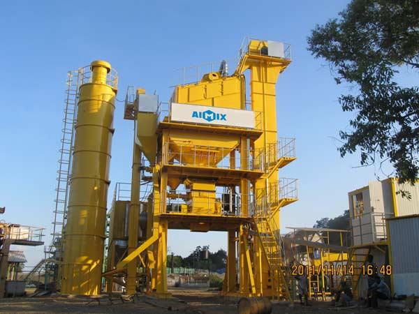 ALQ80 bitumen mixing plant