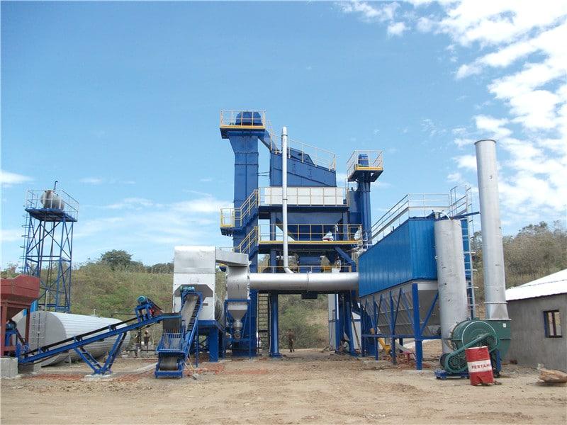 ALQ100 bitumen mixing plant
