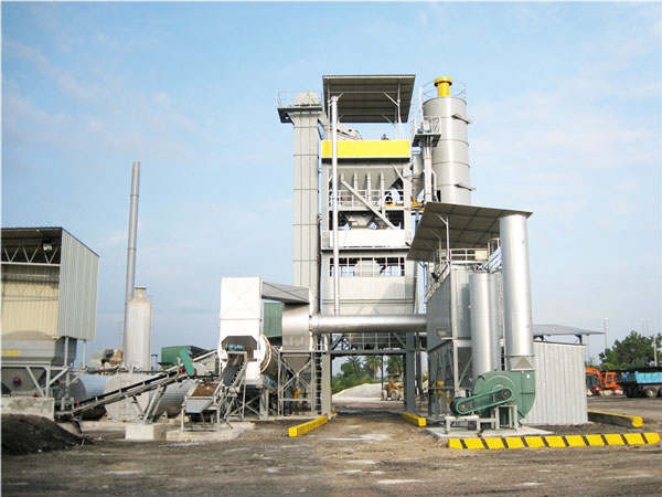 ALQ120 bitumen mixing plant