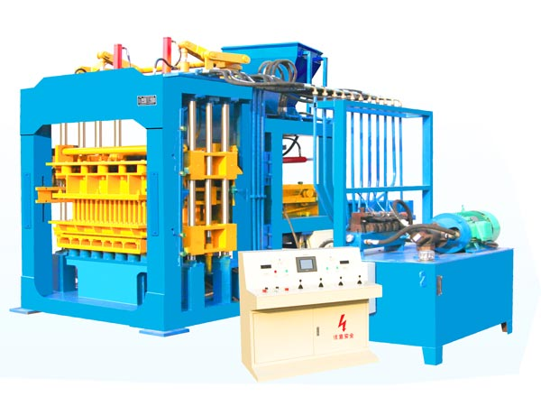 fully automatic cement brick machine