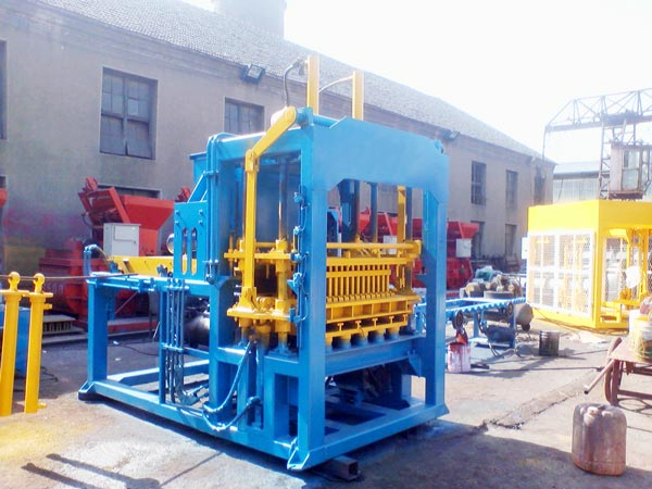 cement brick block machine