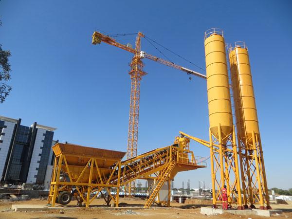 YHZS25 mobile plant