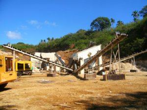 aggregate crushing plant machine