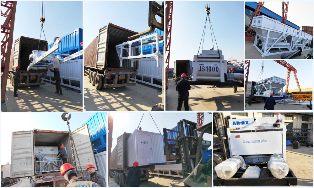 deliver AJ-50 concrete plant to Davao, Philippines