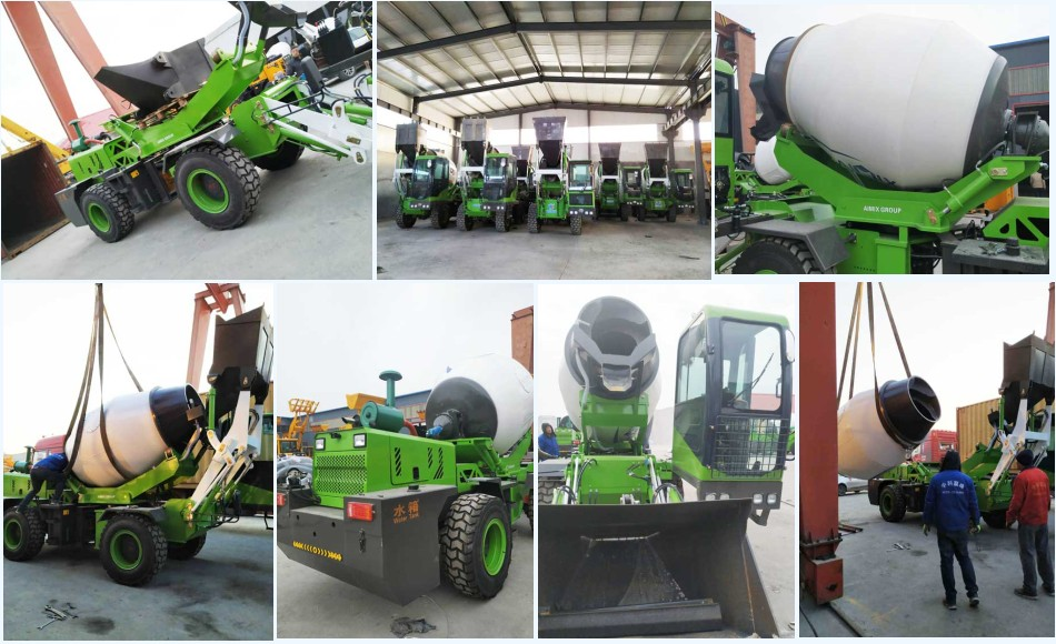 3.2 cub self loading concrete mxier for sale Philippines