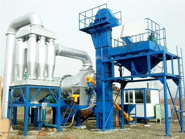 DHB80 mini asphalt plant for sale