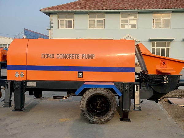 ABT40D trailer concrete pump for sale