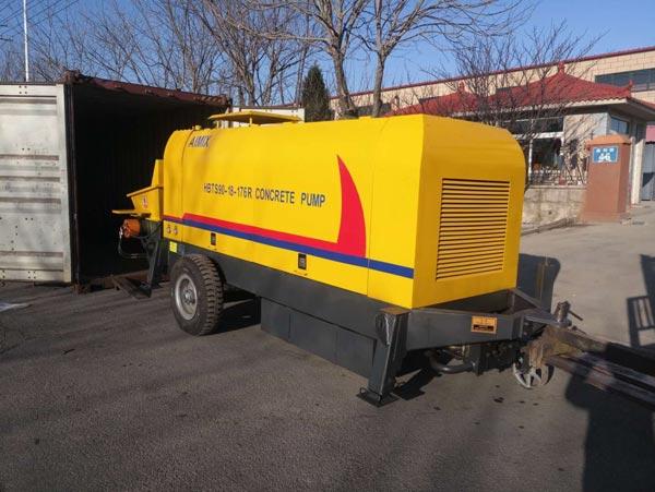 HBTS90R trailer pump