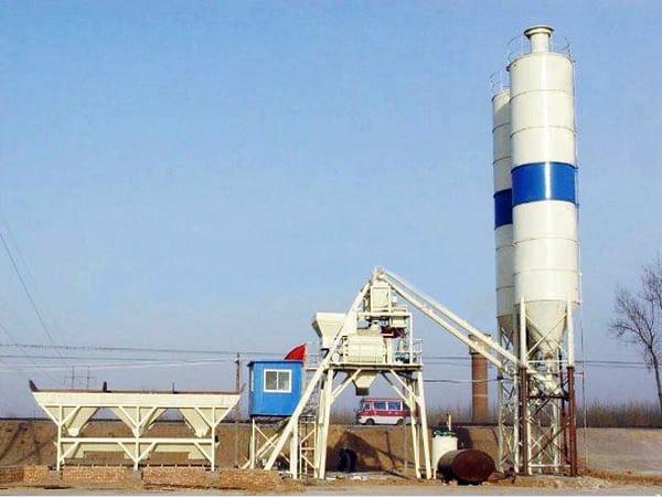 AJ-25 concrete batch plant