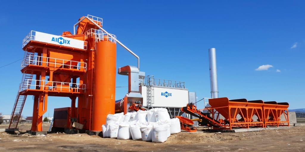 LB1200 asphalt mixing plant philippines