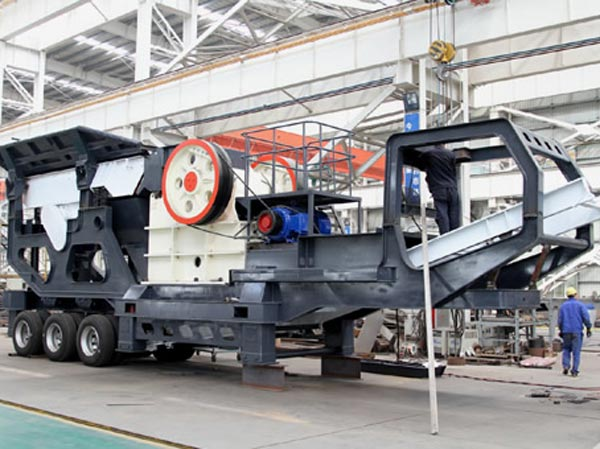 jaw crusher mobile stone plant