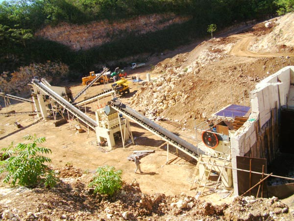 stone crusher plant machine