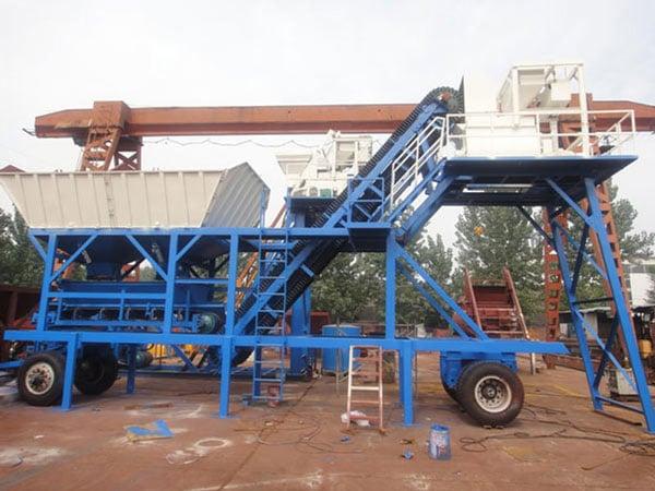 AJY-25 concrete plant