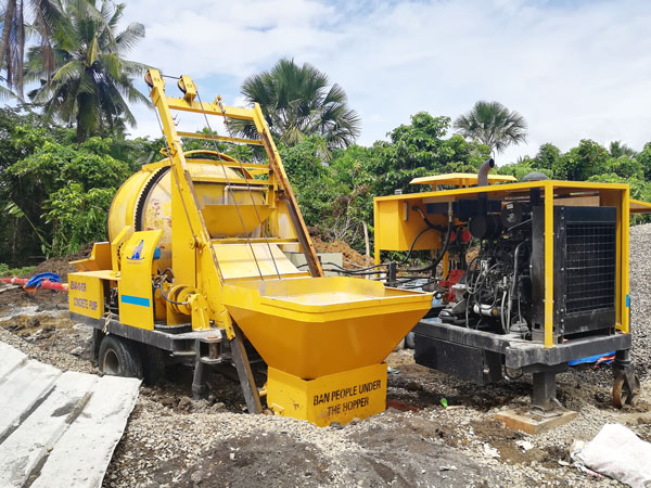 ABJZ40C concrete line pump for sale