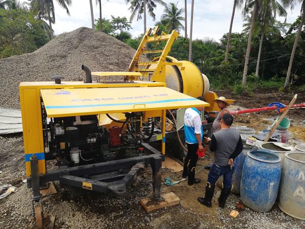 ABJZ40C concrete line pump