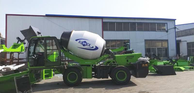 Transport the self loading mixer to Philippines