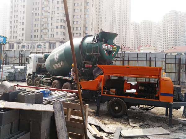 application of concrete line pump for sale