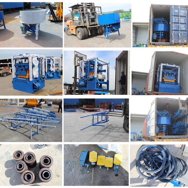 export small brick machine