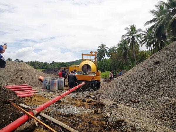 ABJZ40C line concrete pump