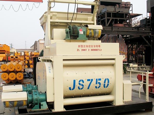 JS750 electric concrete mixer