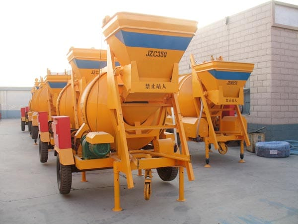 JZC350 portable cement mixer sale