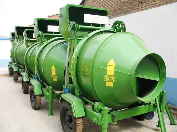 JZC350 small concrete cement mixer