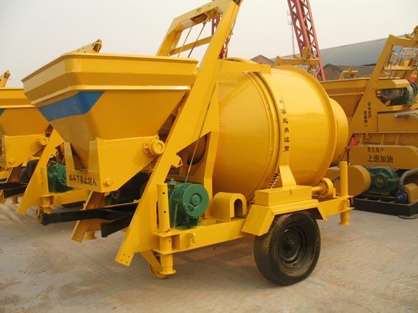 JZC500 electric cement mixer