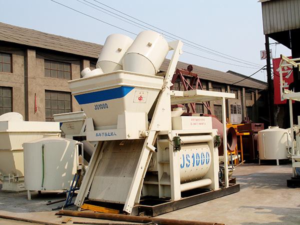 transport JS1000 mixer machine