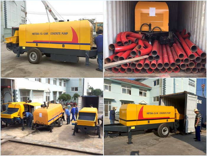 transport stationary pump to Philippines