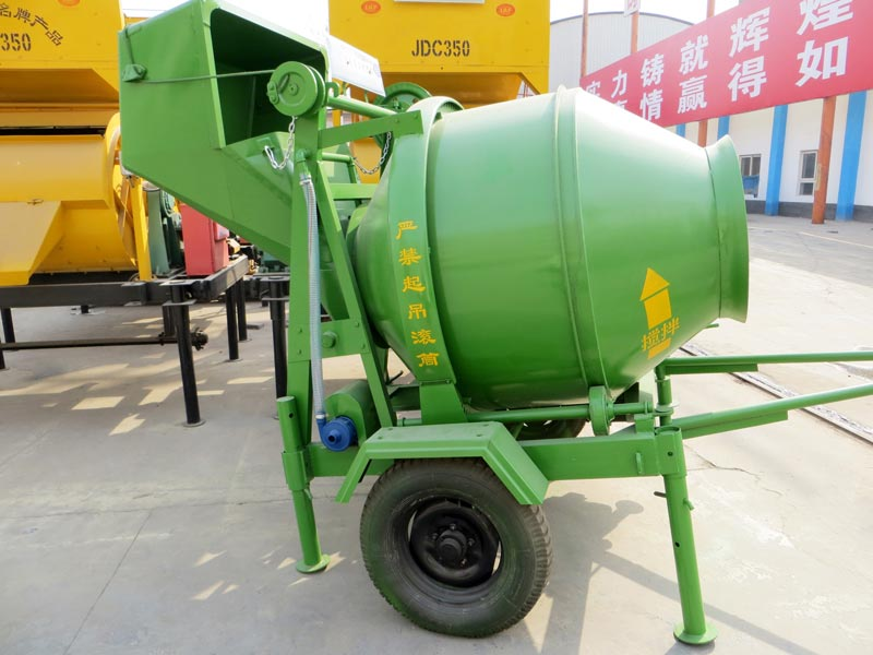JZC350 diesel concrete mixer for sale