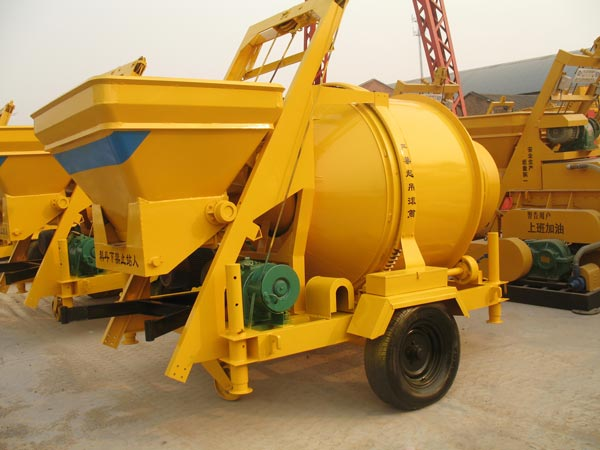 JZC500 diesel concrete mixer for sale