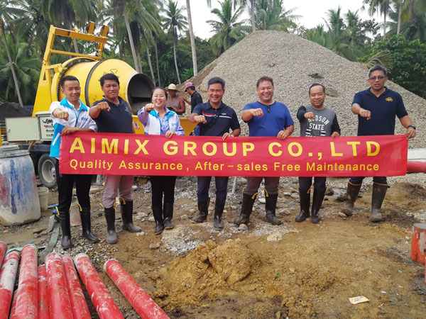Philippines team visits customers