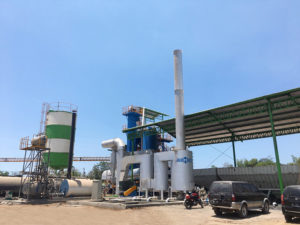 1200 Asphalt Mixing Plant Indonesia