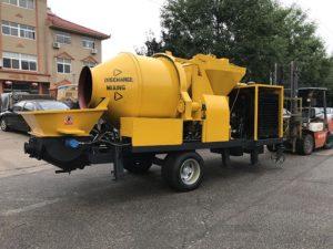 ABJZ40C diesel concrete mixer pumps
