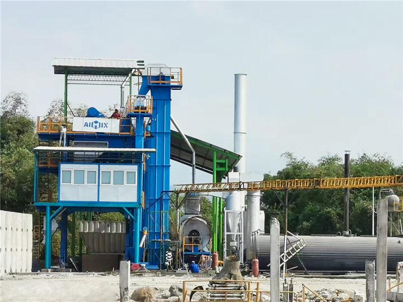 ALQ80 Mini Asphalt Plant